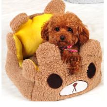 Cama de cão acolhedor de cama de algodão