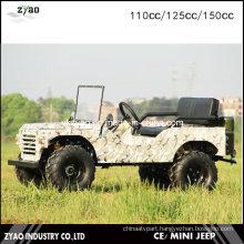 4 Wheeler Farm ATV for Adults Jeep 110cc 125cc or 150cc Mini Jeep for Kids How Sale
