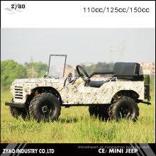 4 Wheeler Farm ATV para Adultos Jeep 110cc 125cc ou 150cc Mini Jipe para Crianças Como Venda
