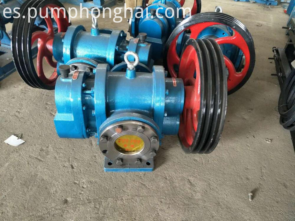 high viscosity lobe pump