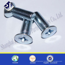 Alibaba China Supplier Hot Sale Flat Head Countersunk Screw