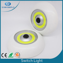 Plástico Bateria COB LED Touch Light Switch