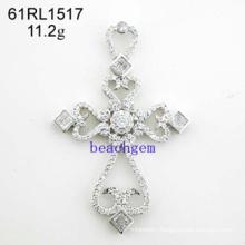 CZ Silver Jewelry Pendant (61RL1517)