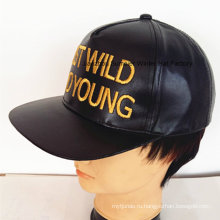 Кожаный спортивный шапочка Высокое качество вышитая шляпа Городские кепки Trucker Hat моды