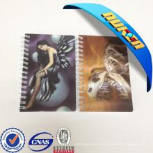 Artículos promocionales Plastic Cover 3D Effect Notebook