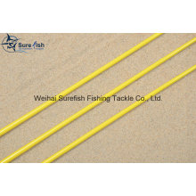 Free Shipping Solid Hollow Carbon Winter Ice Fishing Rod Blank