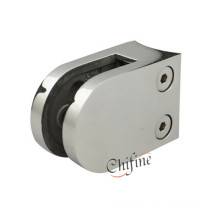 Stainless Steel Round Shape Fixing Wall Glass Clamp