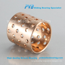 fb092 wrapped bronze bearing,wf wb802 bushing wb-802 bronze bearing,BIMETAL BUSH WZB-092 BRONZE-WRAPPED SLIDING BEARING