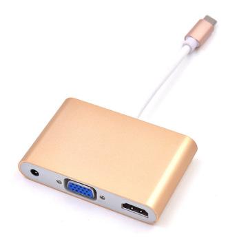 USB tipo C para HDMI USB 3.0 HUB