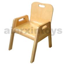 Chaise empilable en bois pour enfants (81442-81444)