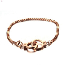 Bracelet à menottes en acier inoxydable 316L