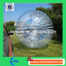 Bajo costo inflable tierra zorb bola con buena calidad para la diversión