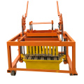 QTF40-3D cheap Portable Manual small hand operated concrete brick block maker making machine price list