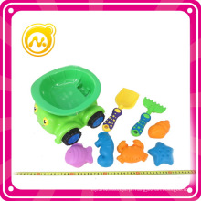 8pcs plástico brinquedo praia carro conjunto verão brinquedo