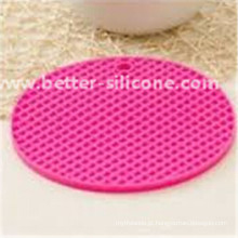 Esteira colorida personalizada do potenciômetro do silicone