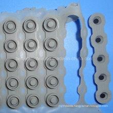 1X5 Matrix Conductive Silicone Rubber Keypad