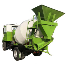 mortar material stirring truck  Hydraulic concrete mixing vehicle be used for mixing and transportation