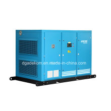 Compresor de aire de tornillo de ahorro de energía de compresión de dos etapas (KD75-7II)
