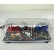 Hot Sale Police Revolving Mini Halogen Rotating Emergency Warning light bar TBD02951