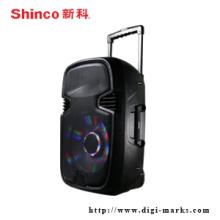 Professional Portable Speaker with Wireless Bluetooth Speaker FM