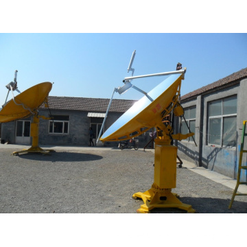 Parabolic Dish Solar Thermal Concentrators for Green House in Cold Region Siberia of Belaya Dacha Group