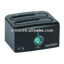 ORICO 8628US3-C HDD Docking Station clone USB3.0 2 BAY HARD DRIVE CLONE, Dual Bay HDD Cloner