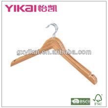 Natural cabides de bambu camisa