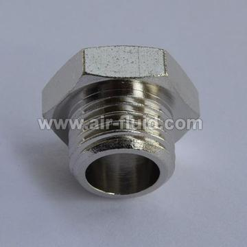 Hexagonal Plug - Brass Fittings - BSPT Male Thread