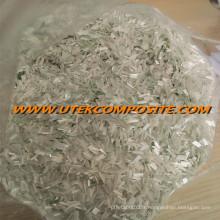 Tricoté en fibre de verre de fibre de verre de 4,5 mm de longueur en fibre de verre pour PA