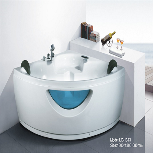 Bathroom corner freestanding bath tub