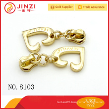 Custom Zinc Alloy Garment Accessory zipper puller & zipper puller bag accessories