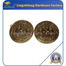 Freemason Lodge Mens Jewelry Gold Cufflink