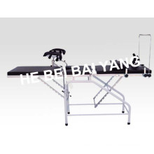 a-182 Plastic-Sprayed Delivery Bed for Gynaecology and Obstetrics