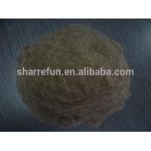 Mouton chinois laine ombre foncée