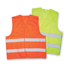 Светоотражающий жилет безопасности (оранжевый)