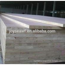 Tablero de madera natural de la chapa de la ceniza 19m m