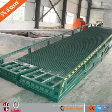 15 ton china supplier CE mobile yard ramp/heavy duty loading ramp/hydraulic ramp for truck