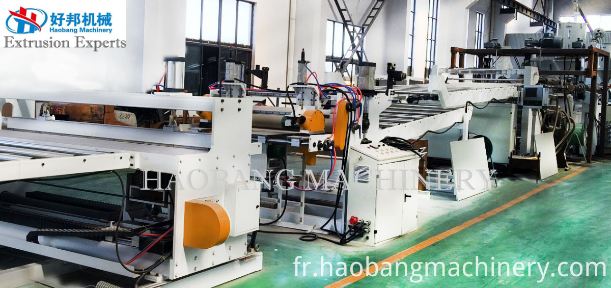 PS PC PMMA ABS sheet line