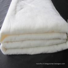 AOBO 20% Bambou et 80% soie Rembourrage en coton aiguilleté
