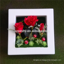 Flores artificiales decorativas al por mayor para la venta
