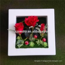 Vente en gros de fleurs décoratives artificielles à vendre