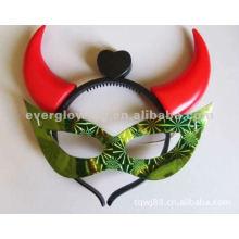 glow horn masks hot sale flashing mask