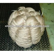 Dechaired cashmere fiber CASHMERE TOP