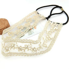 Wholesale Fashion Pearl Lace Hair Band HB25