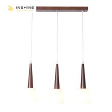 Крутые деревянные подвесные светильники