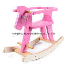 Good Quality Wooden Rocking Horse with Safeguard
