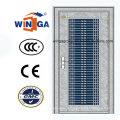 Middle East Market Porte métallique de sécurité en acier inoxydable (W-GH-21)
