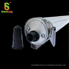Anti-UV 316 inoxidable Anti-amoníaco IP69K LED tri-prueba de luz