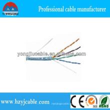 1000m UTP Cat5e Cable LAN Cable de fábrica Precio Shanghai Yiwu Factory Mejor Calidad CCA Cu