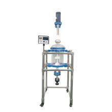 Hot sale Bioreactor 10L Chemical separator single layer glass reactor